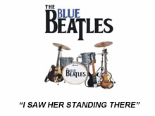 The Blue Beatles perfom I Saw Her Standing There by The Beatles